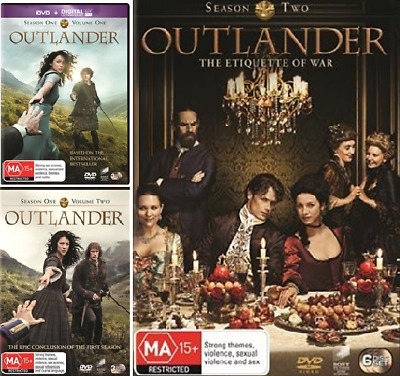 AU44 • Buy Outlander Season 1 & 2 (DVD, 12-Disc Set) NEW