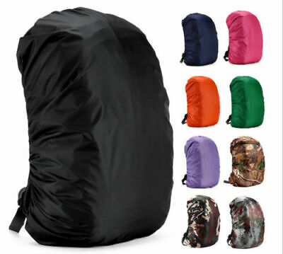 AU13.79 • Buy Waterproof Backpack Rain Dust Cover Travel Climbing Hiking Outdoor Rucksack Bag