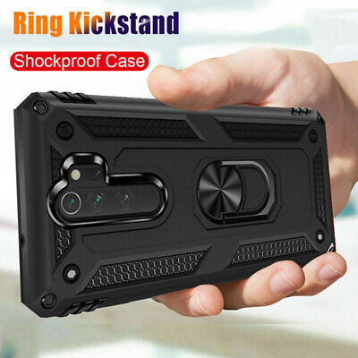 For Xiaomi Redmi Note 8 7 Pro 7A Military Armor Case Magnetic Ring Holder Cover • 3.95$