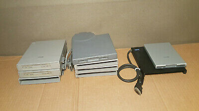 $ CDN99.99 • Buy Lot Of 9 3.5external Floppy Disk Drives For Vintage Toshiba And IBM Laptops