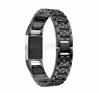 AU8.99 • Buy For Fitbit Charge 2 Stainless Steel Bracelet Strap Replacement Watch Band Wrist