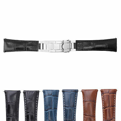 $ CDN80.37 • Buy 20mm Leather Watch Band Strap For Rolex Datejust Submariner Gmt Explorer