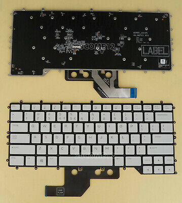 $ CDN74.90 • Buy New For DELL Alienware M15 R2 2019 Keyboard Color Backlit US White Key NO Frame
