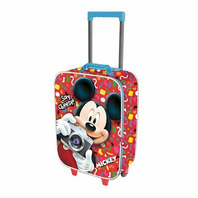 TRAVEL TROLLEY Bag - DISNEY MICKEY MICKEY Mouse To  • 42.52£
