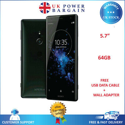 AU180.50 • Buy Sony Xperia XZ2 Liquid Black 64GB Sim Free 5.7  EE Locked Android Smartphone