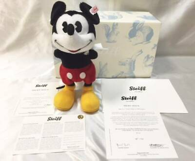 $502.98 • Buy STEIFF Mickey Mouse Limited To 2000 Only 2017 1934's Model W/ White Tag Box New