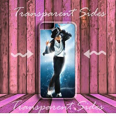 £2.49 • Buy MICHAEL JACKSON KING OF POP Blue HARD PHONE CASE COVER For IPhone Models