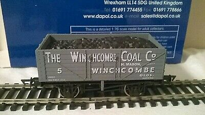 Dapol/glos & Warks 7 Plank Open Wagon '5' The Winchcombe Coal Co 1:76/00 • 17.95£