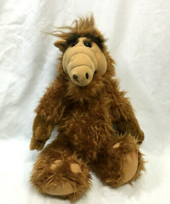 1986 Vintage Coleco ALF Alien Productions 18 Inch Plush Doll Stuffed FREESHIP • 49.86$