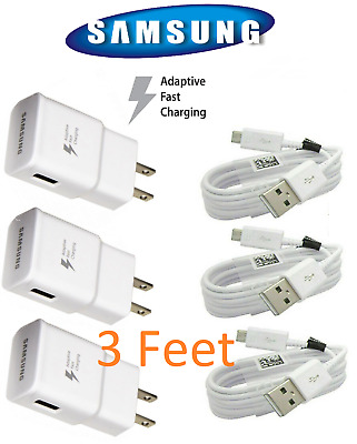 $ CDN21.20 • Buy OEM Adaptive Fast Rapid Charger Original Samsung Galaxy S6 S7 J7 Edge Note 4 5