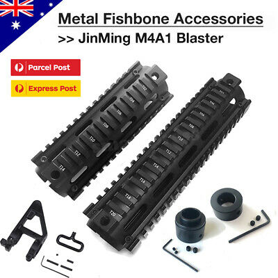 AU18.95 • Buy Metal Fishbone Upgrade Accessory For JinMing Gen8 M4A1 Gel Ball Blaster Toy