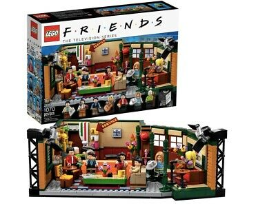 $86 • Buy Lego 21319 Ideas Central Perk Collectable FRIENDS TV Series Brand New Sealed