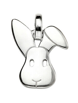 £19.99 • Buy 925 Sterling Silver Bunny Rabbit Pendant Necklace (Chain Included)