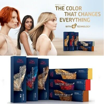 Wella Koleston Perfect Me+ Pure/rich Natural, Browns, Reds, Special Blondes 60ml • 8.99£