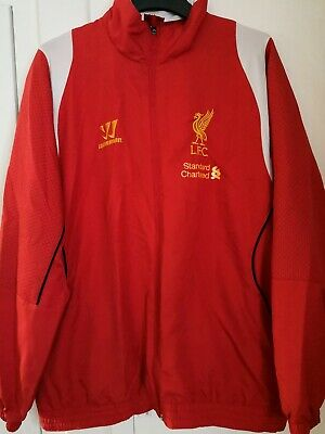 £22.99 • Buy LIVERPOOL FC WARRIOR Track Top JACKET Size L Adult