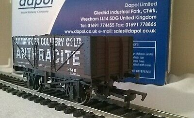 Dapol (b893) 7 Plank Open Wagon '48' (coal Load) • Ammanford Colliery  1:76/00  • 24.95£