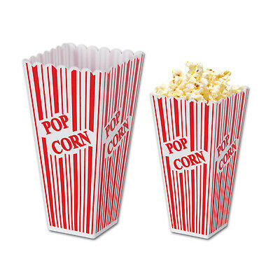 Plastic Popcorn Boxes (Pack Of 6) • 18.25£