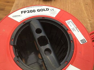 Firefix Fp200 Gold 2 Core Fire Proof Cable 15+ Mtrs Over From My Building Works • 15£