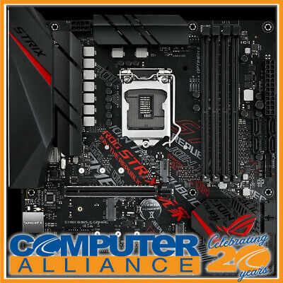 AU229 • Buy ASUS S1151 MicroATX ROG Strix B365-G Gaming DDR4 Motherboard