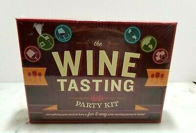 Wine Tasting Party Kit - Unopened New In Box Social & Educational Fun • 15.99$