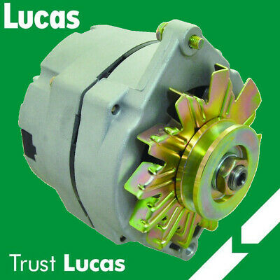 $ CDN60.14 • Buy Lucas Alternator Replaces Delco 10si 1 Wire Install 65 Amp V Belt Pulley