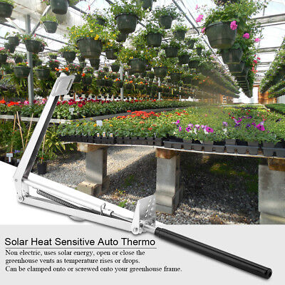 Adjustable Greenhouse Solar Heat Automatic Sensitive Auto Vent Window Opener Kit • 14.66£