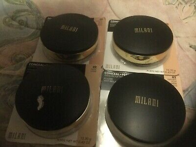 Milani Cosmetics Conceal Perfect Shine Proof Powder 5, 6 • 10£