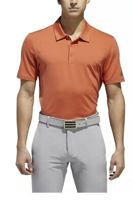 $19.99 • Buy NEW 2018 Adidas Ultimate 365 Solid Polo Golf Shirt - Raw Amber- Multiple Sizes
