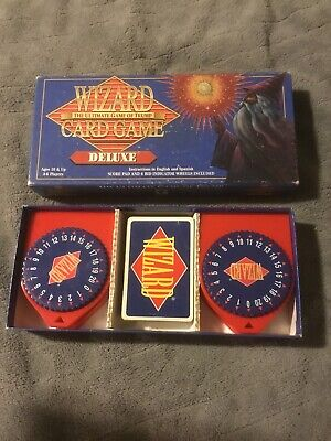 Wizard Card Game Deluxe Edition 1997 - US Games (no Instructions) • 6.99$