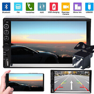 $102.98 • Buy Fit Dodge Ram 1500 2500 3500 7'' 2Din Car Stereo MP5 Radio Mirror Link For GPS