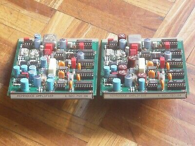 $320 • Buy Pair Of Reproduce Amp 1.820.710.84 For STUDER A810, A820, A812, A816