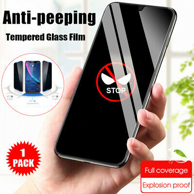 AU5.14 • Buy For OnePlus 7T 6T 5T Anti-Peeping Privacy Tempered Glass Screen Protector Film