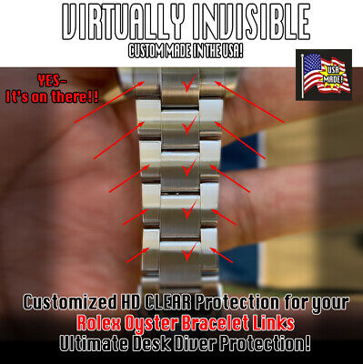 $ CDN84.34 • Buy For Rolex GMT, Submariner, Explorer, Yacht Master OYSTER LINK PROTECTORS Set X2
