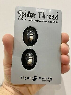 Spider Thread Yigal Mesika (2 Pack). Brand New. • 19.99£