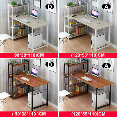 AU159.99 • Buy 4 Tier Bookshelf Cabinet Computer Desk Table Laptop Study Writing Home Office