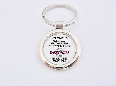 Almost Perfect Supporting West Ham Key Fob Bottle Opener Keyring Badge Gift • 4.99£
