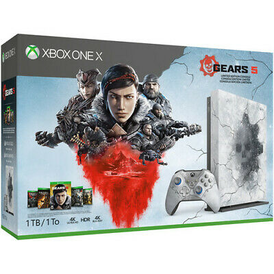 Xbox One X 1TB - Gears 5 Limited Edition Console Bundle 6361004 • 398.99$