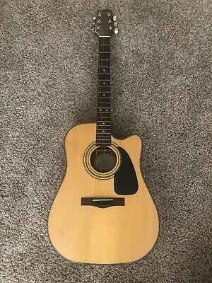 Starcaster By Fender Acoustic Guitar, Pre-Owned • 30$