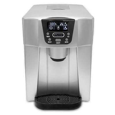 Whynter 26 Lbs. Countertop Direct Connection Ice Maker Water Dispenser In Silver • 174.99$