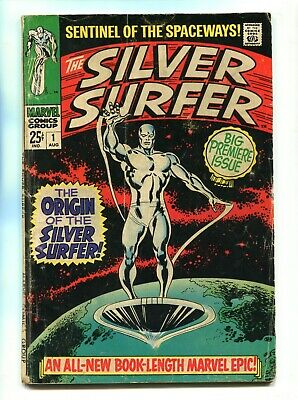 1968 Marvel Silver Surfer #1 Origin Silver Surfer And The Watchers Lower Grade • 88.65$