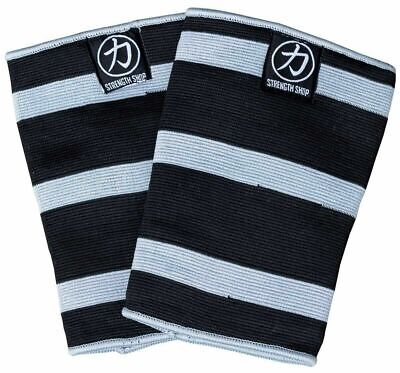 AU78.59 • Buy STRENGTH SHOP TRIPLE PLY ODIN KNEE SLEEVES (XL) - Squats Deadlifts Gym Sbd