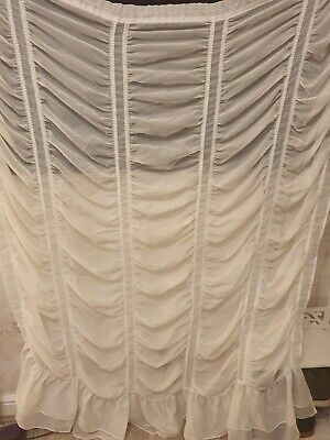 Festoon Net Curtains • 80£