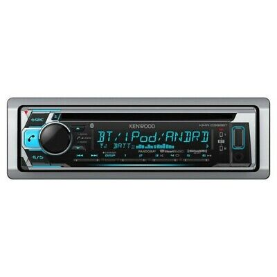 $57.99 • Buy Kenwood KMR-D368BT Marine Boat CD Receiver IPhone IPod Stereo USB Bluetooth