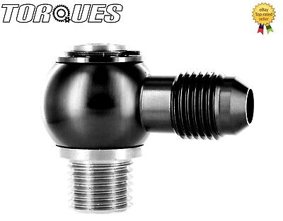 $25.37 • Buy AN -6 (6AN) Banjo Adapter To M14x1.5 Stainless Steel Banjo Bolt Assembly BLACK