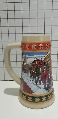 $ CDN12 • Buy Anheuser-Busch Budweiser Holiday Stein Collection  Hometown Holiday   Vintage...