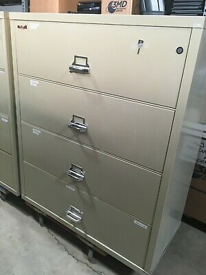 FireKing   4 Drawer Fireproof Lateral File Cabinet • 799$