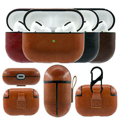 $ CDN15.55 • Buy AirPods Pro Case Protective Leather Holder Bag For Apple Earphone Accessories CA