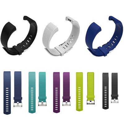 $ CDN4.97 • Buy Replacement  Silicone Band  For Fitbit Charge 2 Fitness Large Small Wristband