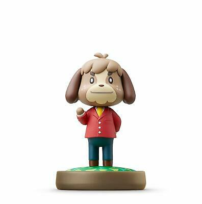 £4.95 • Buy Amiibo Festival Animal Crossing Collection Digby Figure Nintendo Wii U 3DS NEW