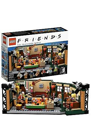 New Lego Friends Central Perk Cafe Ideas 21319 IN HAND Sold Out Collectible • 60.99$